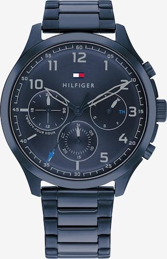 TOMMY HILFIGER Uhr in navy / rot / weiß, Produktansicht