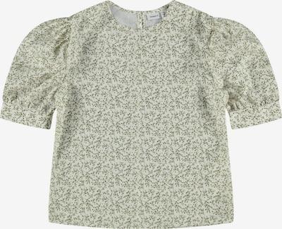 NAME IT Bluse 'Himilu' in hellgrün / weiß, Produktansicht