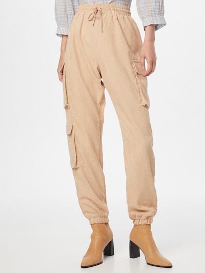 krém Missguided Cargo nadrágok, Modell nézet
