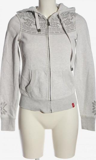 EDC BY ESPRIT Kapuzensweatshirt in XS in hellgrau, Produktansicht