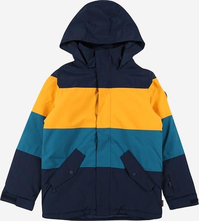 BURTON Outdoor jacket in Dark blue / Yellow / Petrol, Item view
