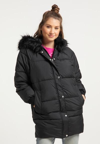 MYMO Winterjacke in schwarz, Modelansicht