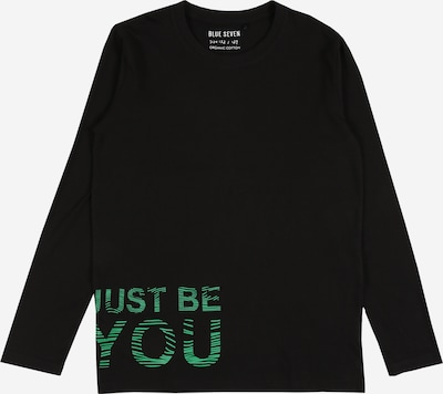 BLUE SEVEN Shirt in hellgrün / schwarz, Produktansicht