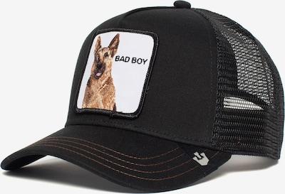 Cappello da baseball 'Bouncer' GOORIN Bros. di colore marrone chiaro / nero / bianco, Visualizzazione prodotti