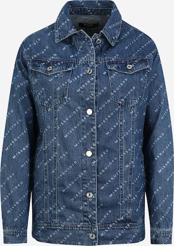 Missguided Tall Jacke in Blau