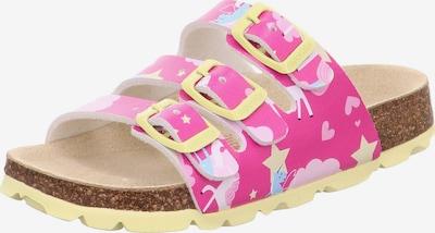 Sandalai iš SUPERFIT, spalva – mišrios spalvos / rožinė, Prekių apžvalga
