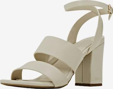 ESPRIT Sandale in Beige