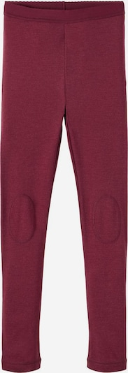NAME IT Leggings in de kleur Rood / Bordeaux, Productweergave