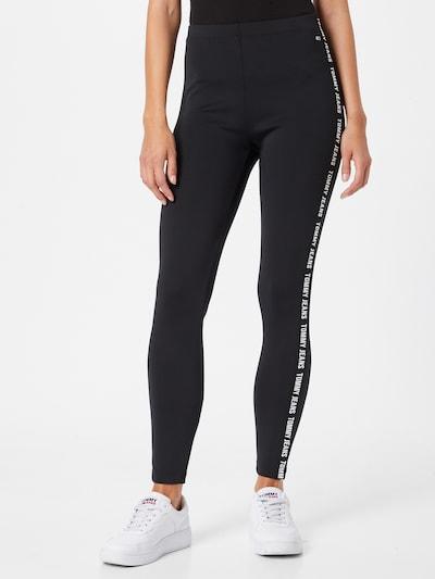 Tommy Jeans Leggings in Black / White, View model