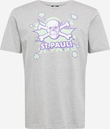 FC St. Pauli Тениска 'Pow Pow' в сиво