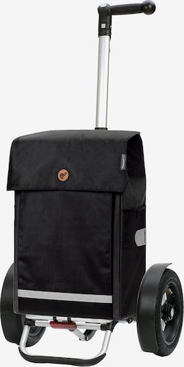 Andersen Shopper Einkaufstrolley 'Martje' in schwarz, Produktansicht