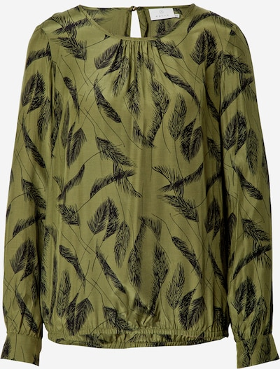 Kaffe Blouse 'Darly' in olive / black, Item view