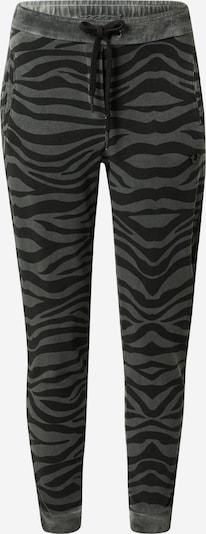 True Religion Pantalon 'Zebra' en gris / vert, Vue avec produit