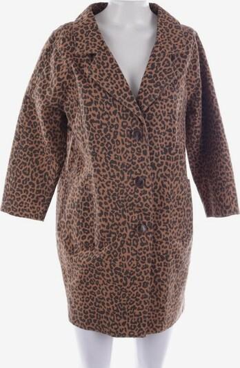 Ganni Mantel in XS in braun / schwarz, Produktansicht