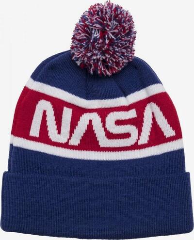 Mister Tee Muts 'NASA' in de kleur Blauw / Rood / Wit, Productweergave