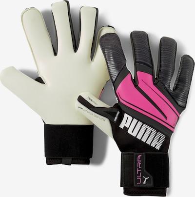 PUMA Sporthandschoenen in de kleur Donkergrijs / Zwart / Natuurwit, Productweergave