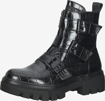 REPLAY Ankle Boots in Black