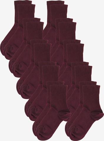 ROGO Komfortsocken in Rot