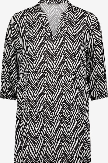 Betty Barclay Tunika-Bluse mit 3/4 Arm in schwarz / weiß, Produktansicht