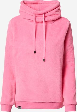 Soccx Sweatshirt 'Nautic Lights' in Pink