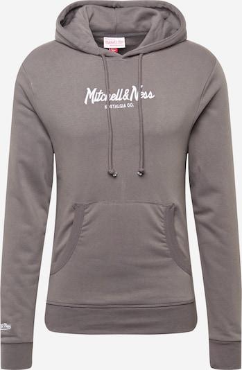 Bluză de molton Mitchell & Ness pe gri / alb, Vizualizare produs