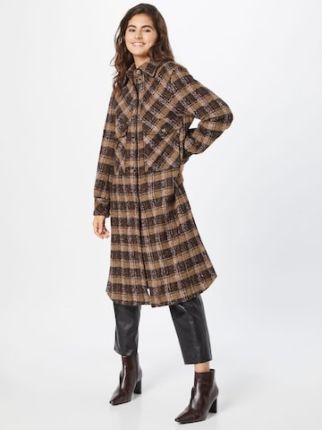 JOOP! Ανοιξιάτικο και φθινοπωρινό παλτό 'Cora' σε καφέ
