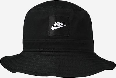 Nike Sportswear Шапка с периферия 'BUCKET CORE' в черно / бяло, Преглед на продукта
