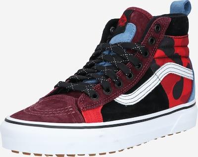 VANS Sneakers hoog 'UA SK8-Hi 46 MTE DX' in de kleur Rood / Zwart, Productweergave