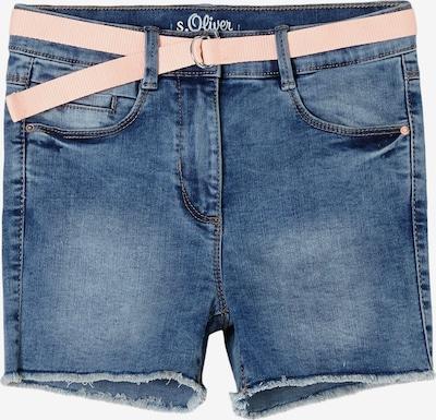 s.Oliver Jeans in de kleur Blauw denim / Rosa, Productweergave