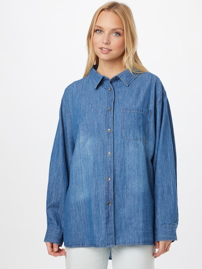 kék farmer Cotton On Blúz, Modell nézet