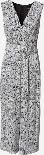Salopeta COMMA pe negru / alb, Vizualizare produs