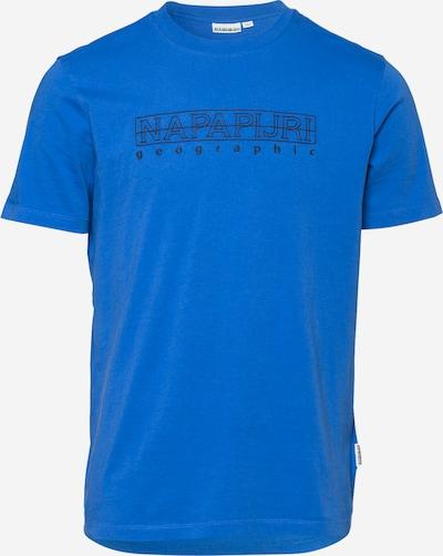 NAPAPIJRI T-Shirt 'SEBEL' in royalblau / schwarz, Produktansicht
