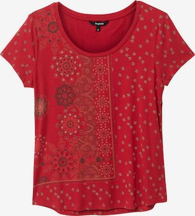 Tricou 'ESTAMBUL' Desigual pe bej / roșu / negru, Vizualizare produs