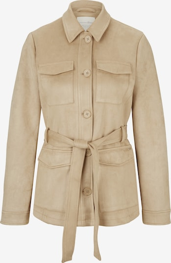 TOM TAILOR DENIM Jacke in hellbeige, Produktansicht