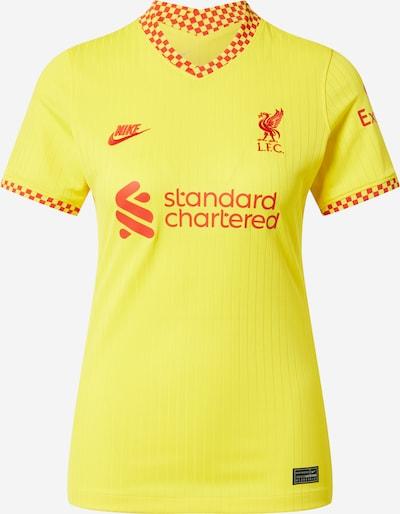 NIKE Functioneel shirt 'Liverpool FC 2021/22 Stadium Third' in de kleur Geel / Rood, Productweergave