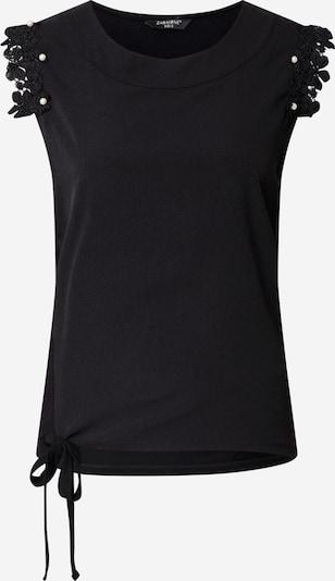 ZABAIONE Top 'Sydney' en negro, Vista del producto