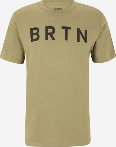 BURTON Tričko 'Martini Olive' - olivová / černá, Produkt
