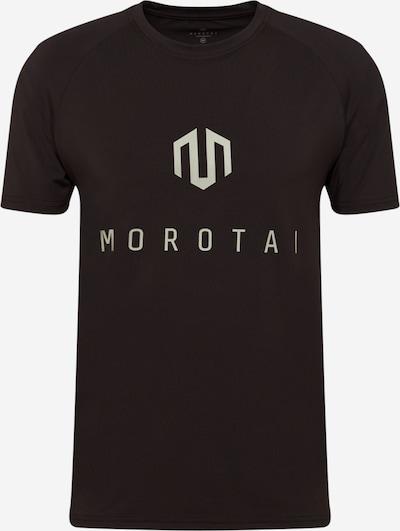 MOROTAI Funkčné tričko - striebornosivá / čierna, Produkt