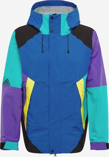 Superdry Outdoorová bunda - modrá / žltá / mätová / fialová, Produkt