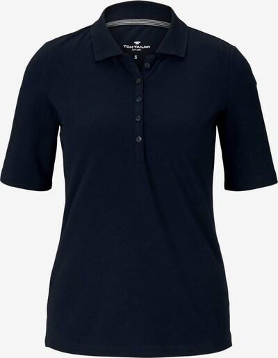 TOM TAILOR Poloshirt in dunkelblau, Produktansicht