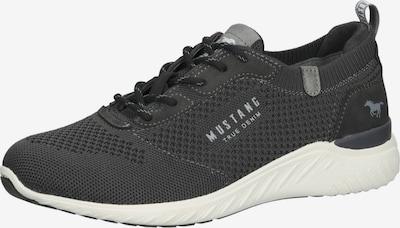 MUSTANG Sneakers laag in de kleur Greige / Lichtgrijs / Donkergrijs, Productweergave