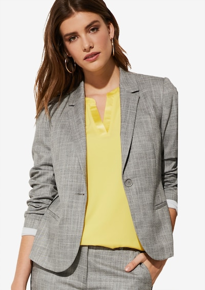 COMMA Blazer in grau, Modelansicht