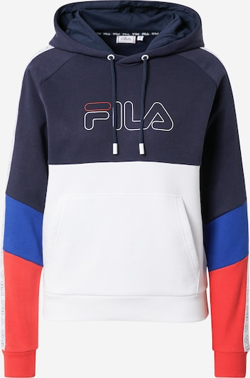 FILA Sweatshirt 'Jacinda' in de kleur Marine / Royal blue/koningsblauw / Rood / Wit, Productweergave