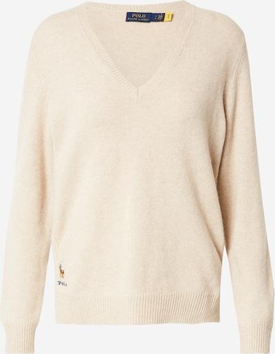 POLO RALPH LAUREN Pullover in beige / blau / braun / rot / weiß, Produktansicht