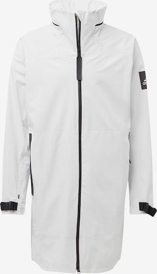 ADIDAS PERFORMANCE Outdoorjas 'MYSHELTER' in de kleur Donkergrijs / Wit, Productweergave