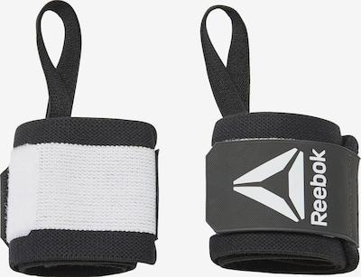 REEBOK Handgelenkbandage in schwarz / weiß, Produktansicht
