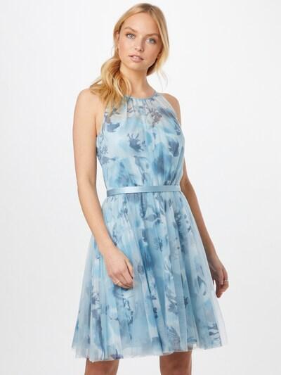 Vera Mont Abendkleid in hellblau / weiß, Modelansicht