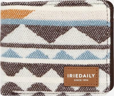 Iriedaily Geldbörse in beige / rauchblau / braun / orange, Produktansicht