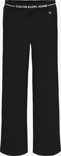 Calvin Klein Jeans Broek in de kleur Zwart / Wit, Productweergave