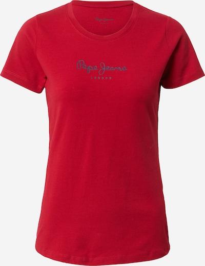 Pepe Jeans Tričko 'New Virginia' - námořnická modř / červená, Produkt